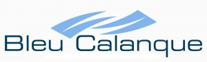 logo bleu calanque simple